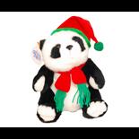 Panda med Tomteluva 23 cm