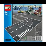 LEGO City T-Korsningar och Kurvor