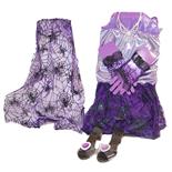 Glamourset Spindelnätskläning