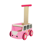 PlanToys Van Walker Pink