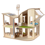 PlanToys Green Dollhouse