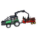 Britains Valmet 805 Traktor med Timmervagn 1:32