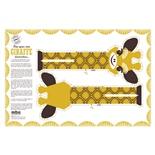 Mibo Handduk/Kudde Giraff