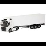 Emek Volvo FH Box Van Semitrailer Vit 1:25