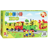 Clics Box Zoo 108 delar