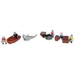 Blue-Box Pirate Play Set