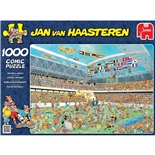 Jan van Haasteren Pussel 1000 Bitar Football Crazy