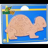 WoodiToys Träpussel 9 Bitar Sköldpadda