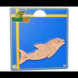 WoodiToys Träpussel 5 Bitar Delfin