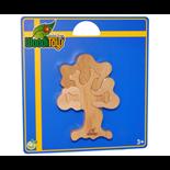 WoodiToys Träpussel 4 Bitar Träd