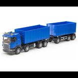 Emek Scania R Lastväxlare med släp Blå
