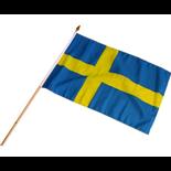 Svenska flaggan i tyg