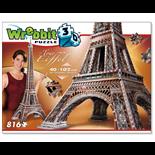Wrebbit 3D Pussel 816 Bitar Eiffeltornet