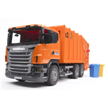 Bruder Scania Sopbil Orange 1:16