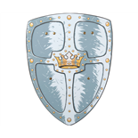 Liontouch Kings Crown Sköld
