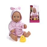 Dolls World Docka Splash Time Baby Flicka 41 cm