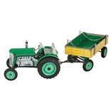 Kovap Zetor Traktor med Släp Wind up 1:25