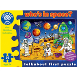Orchard Toys Pussel 25 Bitar Who´s in space?