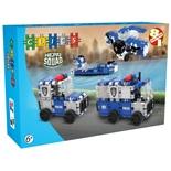 Clics Hero Squad Police 129 delar