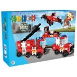 Clics Hero Squad Fire Brigade 124 delar