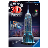 Ravensburger 3D Pussel 216 Bitar Night Edition Empire State