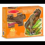 Melissa & Doug Golvpussel 48 Bitar Giant Tyrannosaurus Rex