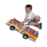 Melissa & Doug Golvpussel 24 Bitar Giant Fire Engine