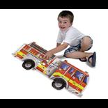 Melissa & Doug Golvpussel 24 Bitar Giant Fire Engine