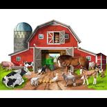 Melissa & Doug Golvpussel 32 Bitar Busy Barn