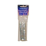 Candle Fountain Isfacklor Silver 2-Pack