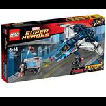 LEGO Marvel Super Heroes Hämnarnas Cityjakt med Quinjeten