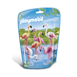 Playmobil Flamingo Flock