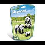 Playmobil Panda Familj med Unge