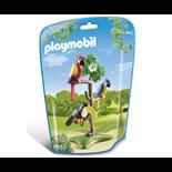 Playmobil Papegojor och Tukan i ett Träd