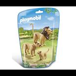 Playmobil Lejonfamilj med Unge