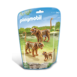 Playmobil Tigerfamilj med Unge