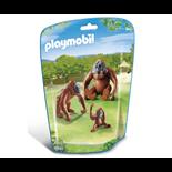 Playmobil Orangutang Familj med Unge