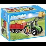 Playmobil Stor Traktor med Släp