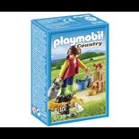 Playmobil Kvinna med Kattfamilj