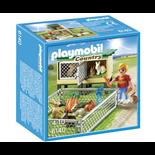 Playmobil Kaninbur med Utomhusinhägnad