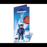 Playmobil Nyckelring Polis