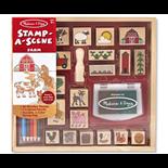 Melissa & Doug Stamp-a Scene Farm