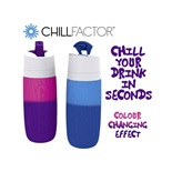 ChillFactor Drink Bottle Colour Changing Effect