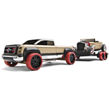 Automoblox T900 Truck + Trailer + HR-2 Roadster