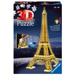 Ravensburger 3D Pussel 216 Bitar Night Edition Eiffeltornet