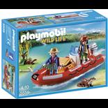 Playmobil Gummibåt med Tjuvfiskare