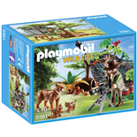 Playmobil Lodjursfamilj med Kameraman