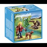Playmobil Bäverträd med Naturforskare