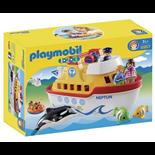 Playmobil 1-2-3 Min Båt Att Ta Med