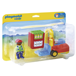 Playmobil 1-2-3 Gaffeltruck